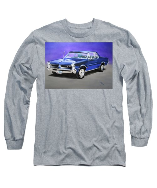 Gto 1965 Long Sleeve T-Shirt by Thomas J Herring