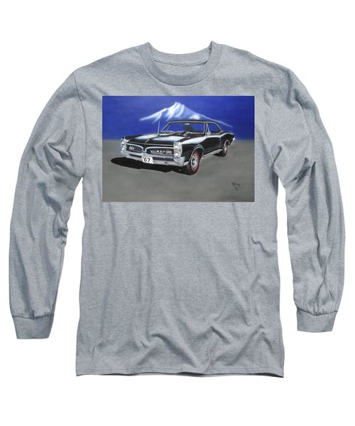Gto 1967 Long Sleeve T-Shirt by Thomas J Herring