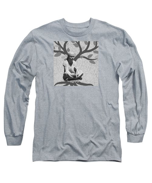 Long Sleeve T-Shirt featuring the photograph Guardian Of The Tree Of Life by I'ina Van Lawick