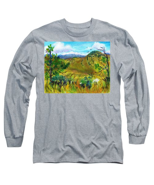 Guilty Pleasures Long Sleeve T-Shirt by C Sitton