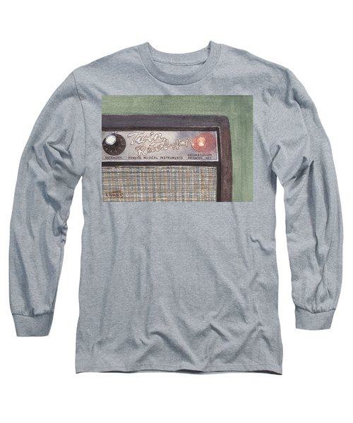 Guitar Amp Sketch Long Sleeve T-Shirt