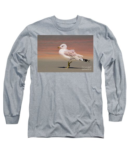 Gull Onthe Beach Long Sleeve T-Shirt