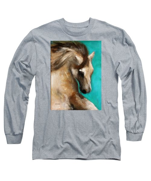 Long Sleeve T-Shirt featuring the painting Gypsy by Barbie Batson
