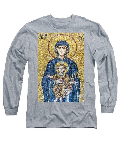 Hagia Sofia Mosaic 05 Long Sleeve T-Shirt