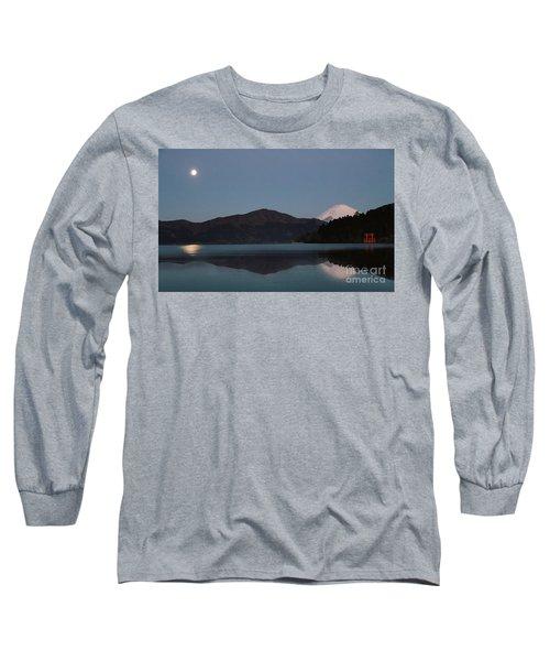 Hakone Lake Long Sleeve T-Shirt