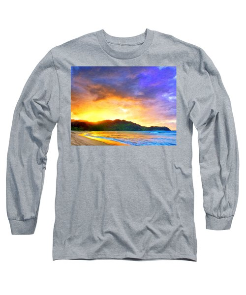 Hanalei Sunset Long Sleeve T-Shirt