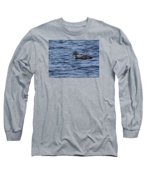 Happy As A Loon Long Sleeve T-Shirt