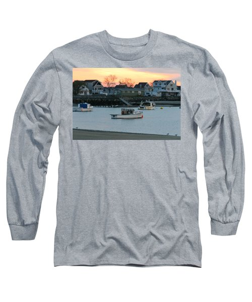 Harbor Sunset Long Sleeve T-Shirt