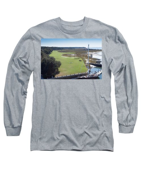 Harbourtown Golf Course 18th Hole Long Sleeve T-Shirt