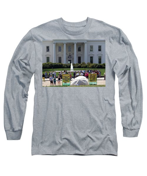 Long Sleeve T-Shirt featuring the photograph Have A Nice Doomsday by Ed Weidman