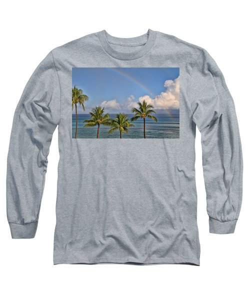 Hawaii Rainbow Long Sleeve T-Shirt