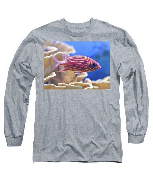Hawaiian Squirrelfish Long Sleeve T-Shirt by Maj Seda
