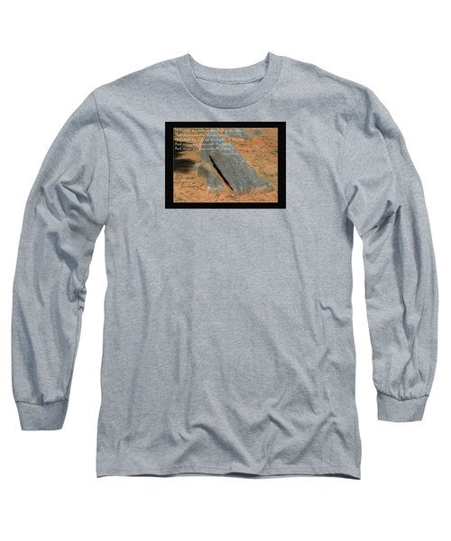He Hideth Me In The Cleft Fanny Crosby Hymn Long Sleeve T-Shirt