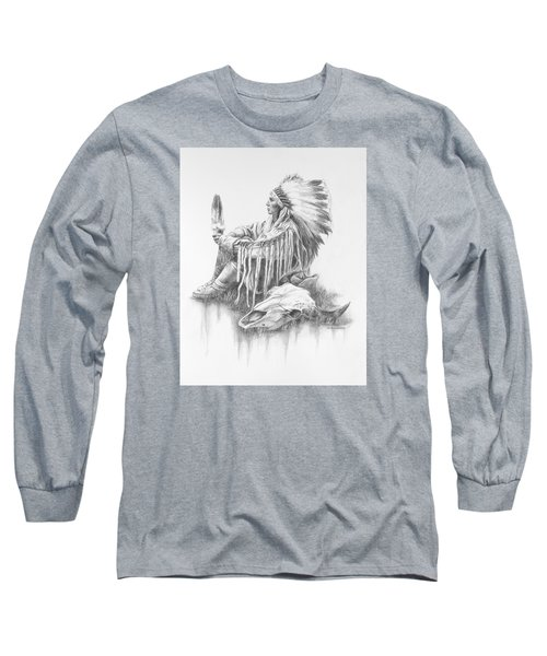 He Who Seeks A Vision Long Sleeve T-Shirt