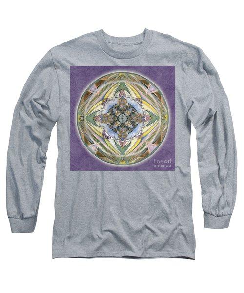 Healing Mandala Long Sleeve T-Shirt