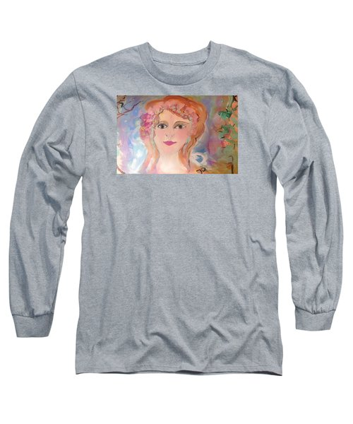 Heart And Soul  Long Sleeve T-Shirt by Judith Desrosiers