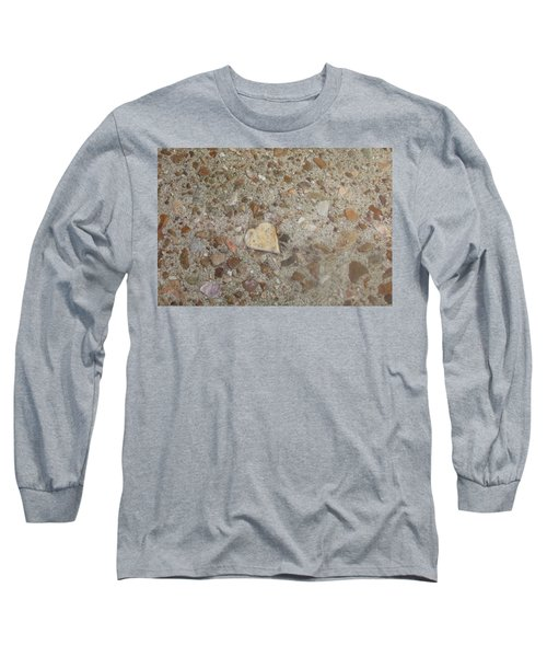 Long Sleeve T-Shirt featuring the photograph Heart Of Stone by Fortunate Findings Shirley Dickerson