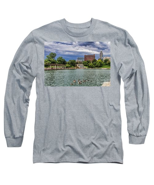 Heartland Of America Park Long Sleeve T-Shirt