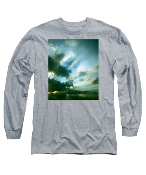 Golden Heavenly Rays Long Sleeve T-Shirt