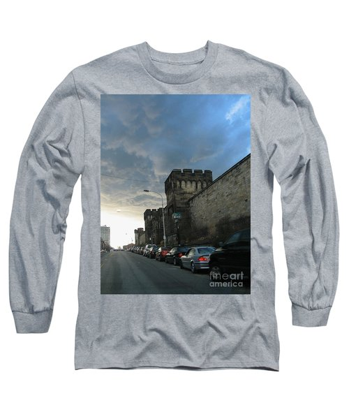 Heavy Weather Over Eastern State Long Sleeve T-Shirt