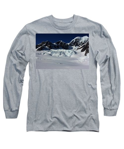 Long Sleeve T-Shirt featuring the photograph Helicopter New Zealand  by Amanda Stadther