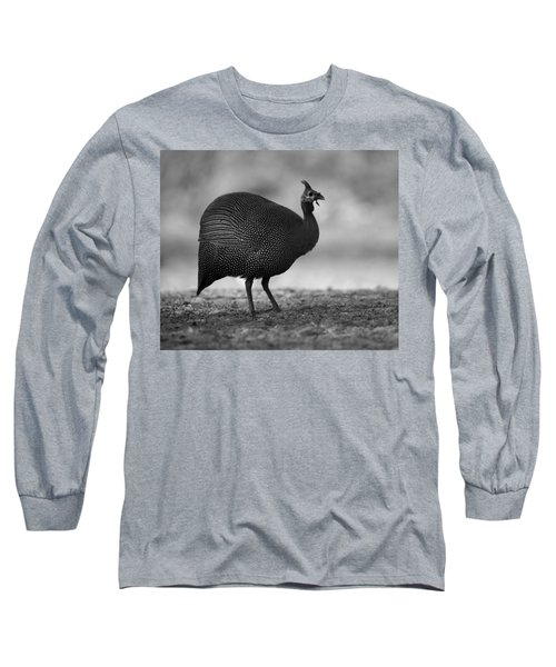 Helmeted Guineafowl Long Sleeve T-Shirt