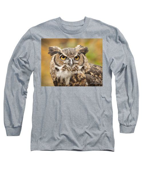 Here's Looking At You Long Sleeve T-Shirt by Carol Lynn Coronios