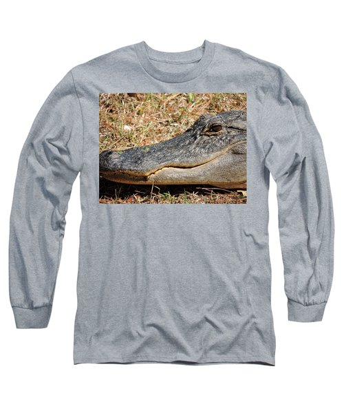 Heres Looking At You Long Sleeve T-Shirt by Kim Pate