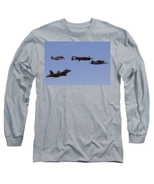 Heritage Flight Of Four Long Sleeve T-Shirt