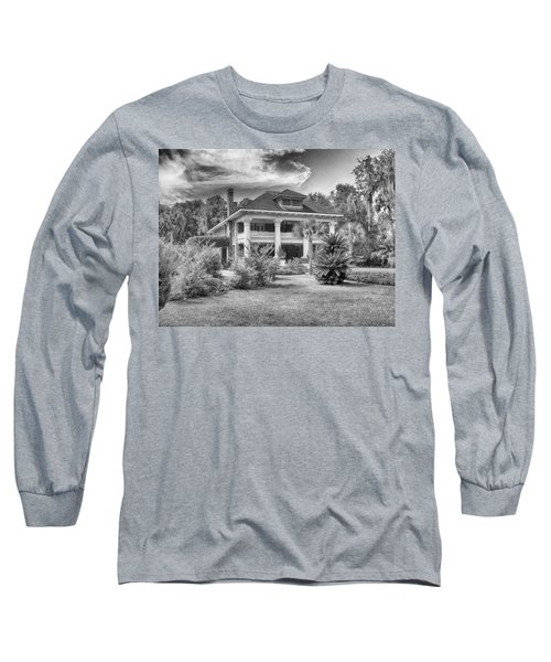 Herlong Mansion Long Sleeve T-Shirt by Howard Salmon