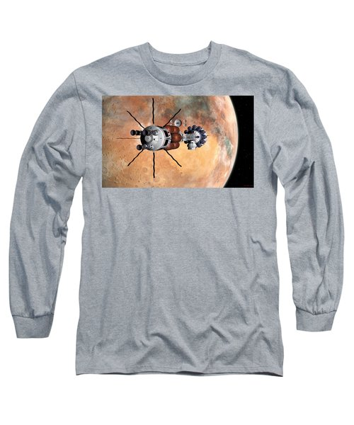 Hermes1 Realign Orbital Path Long Sleeve T-Shirt