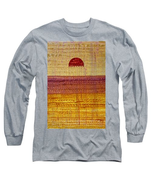 High Desert Horizon Original Painting Long Sleeve T-Shirt