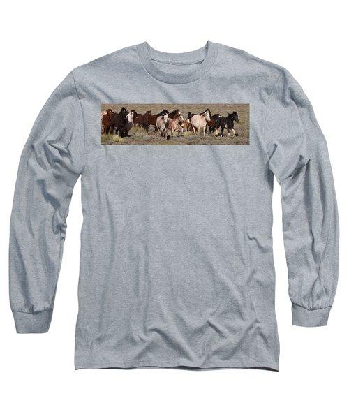 High Desert Horses Long Sleeve T-Shirt