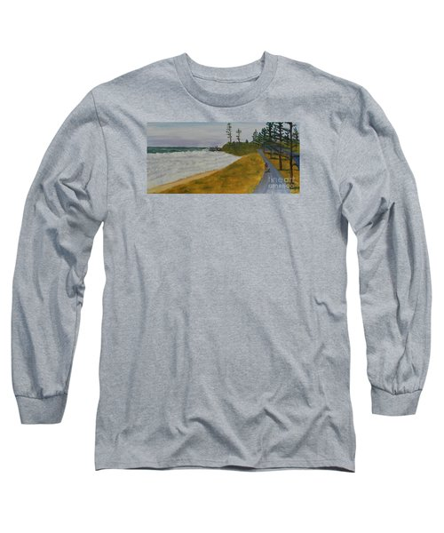 High Tide  Long Sleeve T-Shirt by Pamela  Meredith