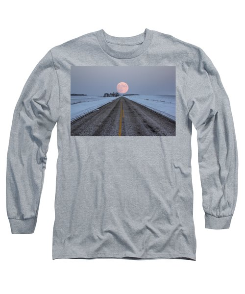 Highway To The Moon Long Sleeve T-Shirt
