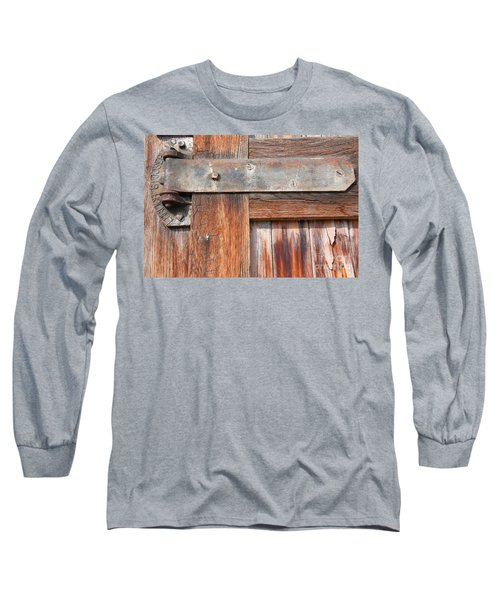 Hinge Door  Long Sleeve T-Shirt