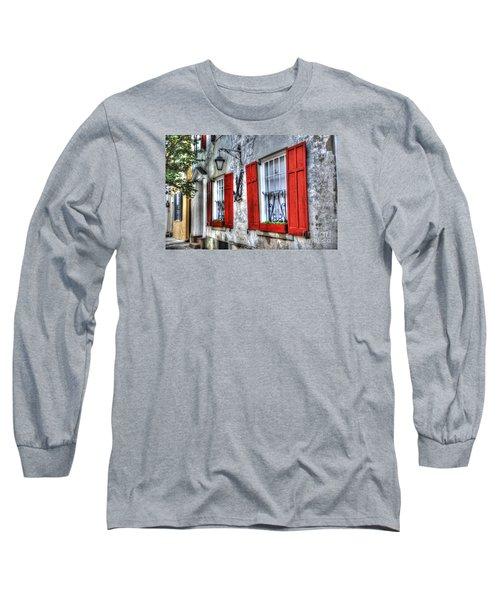 Historic Charleston Pirates House Long Sleeve T-Shirt