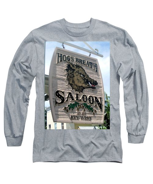 Hog's Breath Saloon Long Sleeve T-Shirt by Fiona Kennard