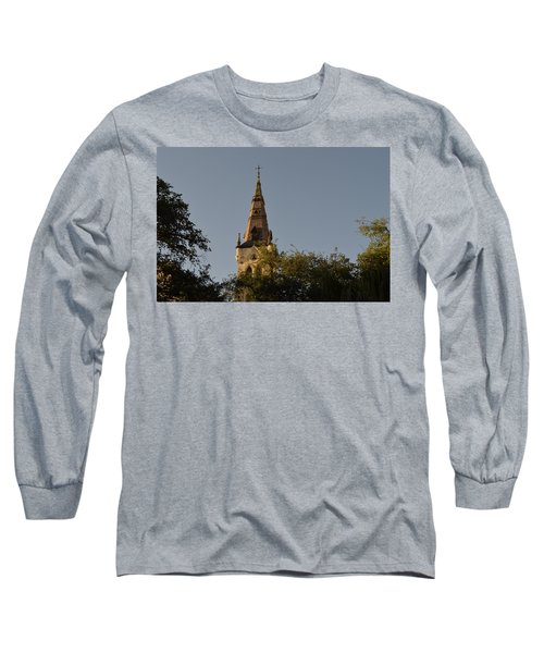 Long Sleeve T-Shirt featuring the photograph Holy Tower   by Shawn Marlow