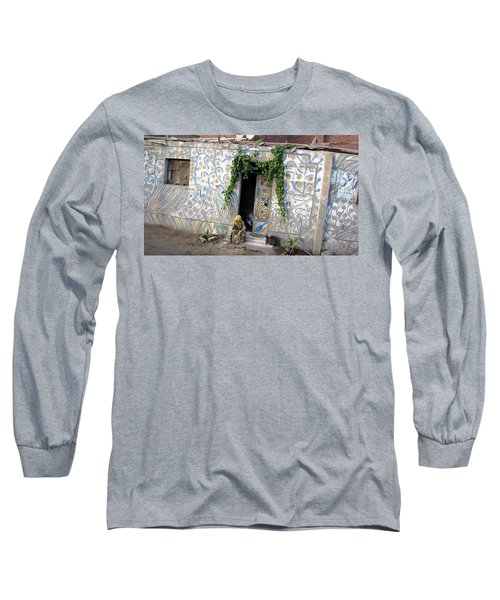 Long Sleeve T-Shirt featuring the photograph Home In Ciro Egypt by Jennifer Wheatley Wolf