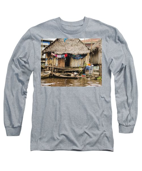 Home In Shanty Town Long Sleeve T-Shirt