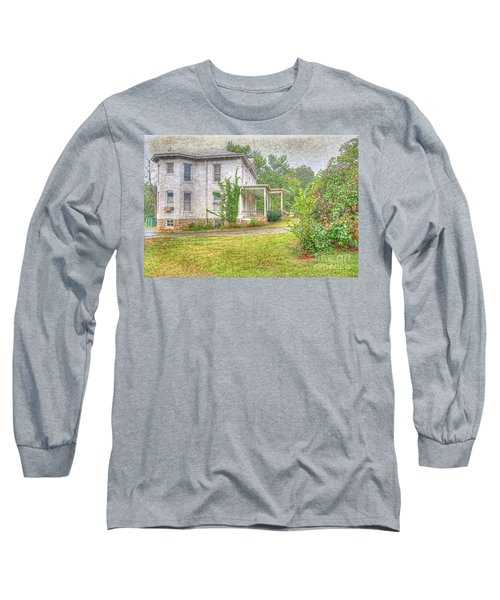 Home Is Where The Heart Is Long Sleeve T-Shirt by Liane Wright