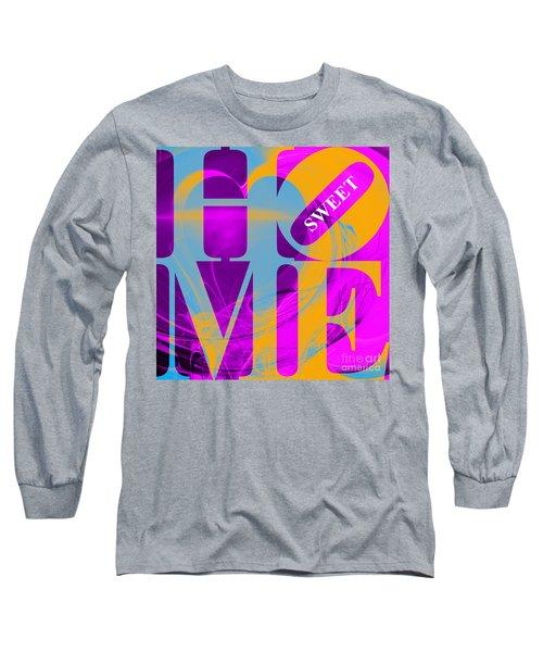 Home Sweet Home 20130713 Fractal Heart V1 Long Sleeve T-Shirt