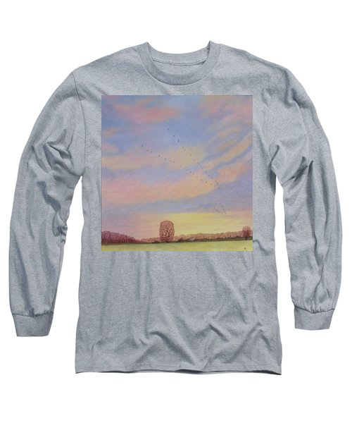 Homeward Long Sleeve T-Shirt by Ann Brian
