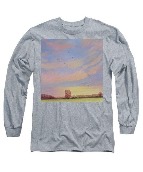 Homeward Long Sleeve T-Shirt by Ann Brian