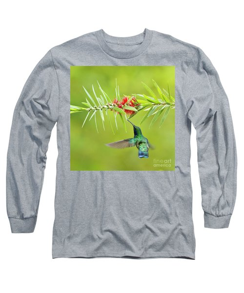 Honey Sucking Long Sleeve T-Shirt