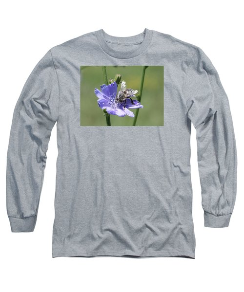 honeybee on Chickory Long Sleeve T-Shirt