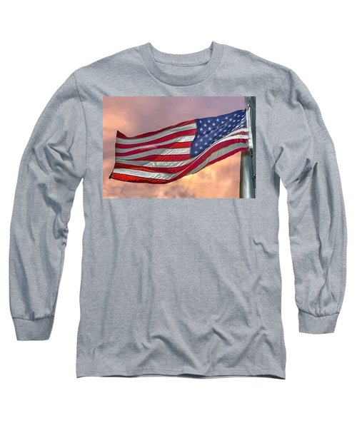Long Sleeve T-Shirt featuring the photograph Honoring The Heroes  by Charlotte Schafer