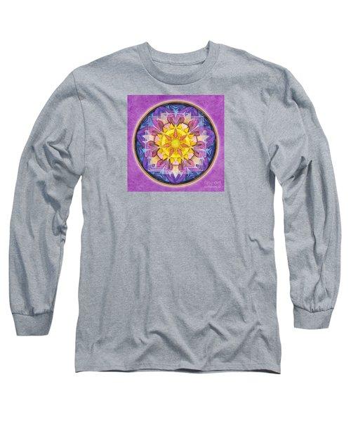 Hope Mandala Long Sleeve T-Shirt