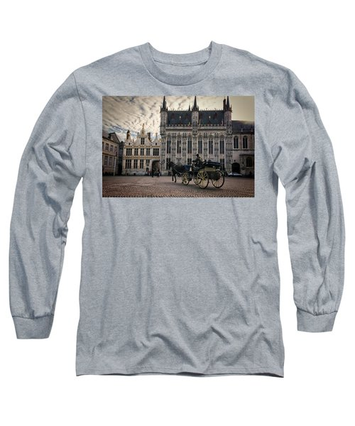 Horse And Carriage Long Sleeve T-Shirt